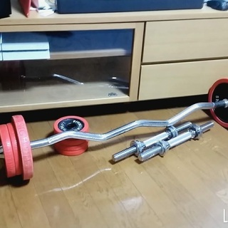 ファイティングロード バーベル ダンベル30kg(+10k…