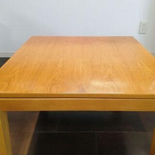 無印良品こたつテーブル65×65