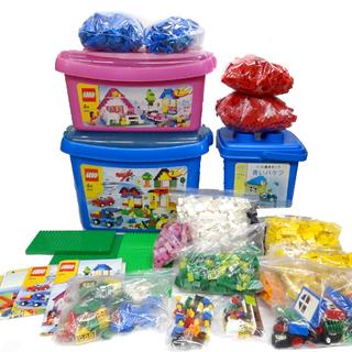 LEGO レゴブロック★基本セット 3つ まとめて フィグ複数/...