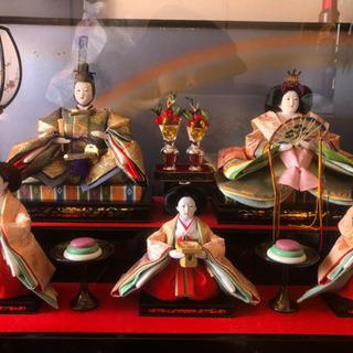 ガラスケース雛人形 - 横浜市