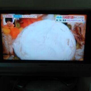 値下げしましたシャープAQUOSLCー20AX5 液晶カラーテレビ