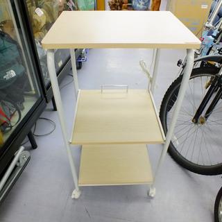 レンジラック コンセント付き キッチン レンジ台 ¥2,800-