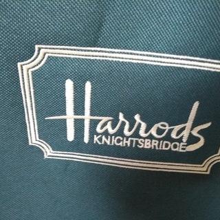 英国Harrods オリジナル 大型バック