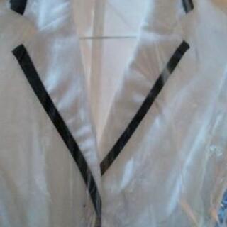コムサイズム レディース ジャケット 白 Lサイズ