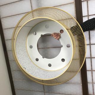 和室にピッタリ 竹で組んだ電気傘 引き取り限定