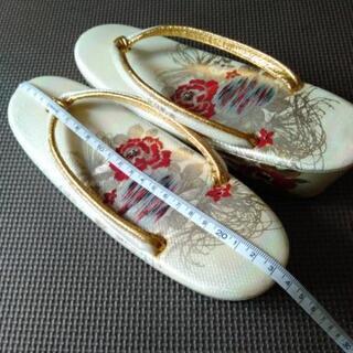 婦人草履 - 靴/バッグ