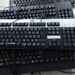 パソコンキーボード1台。取りに来られる方限定。