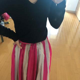 アネキャン風フレアスカート Queen doll