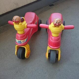 アンパンマンバイク2台セット
