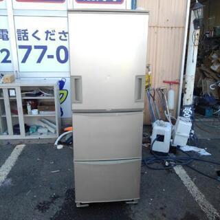5000円!シャープ 両開き 3ドア冷蔵庫 SJ-WA35H 2...