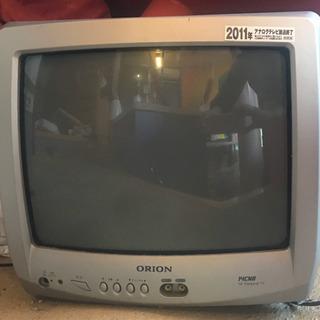 ブラウン管テレビ ORION14型カラーテレビ