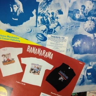 Bananarama - Deep Sea Skiving  LP レコード バナナラマ・ヒット曲満載 中古 UK盤 - 本/CD/DVD