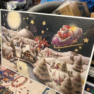 サンタクロース クリスマス パズル絵