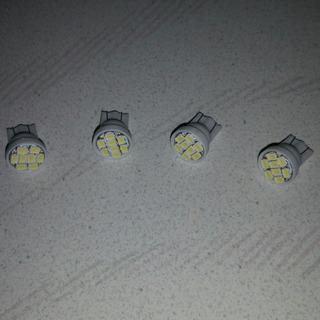 送料込 新品 T10 T16 LEDライト4個セット ポジション...