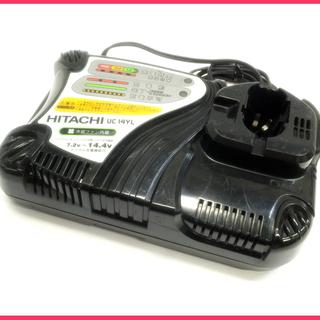 [K1112C]日立工機 急速充電器 UC14YL 動作品
