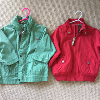 110cm ジャケット 2種類