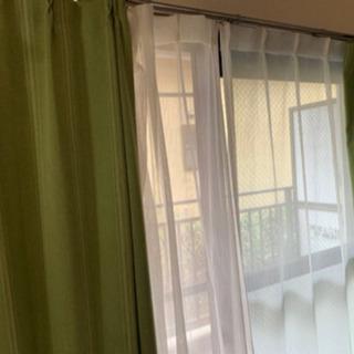 ニトリ 遮光カーテン  レースカーテンセット