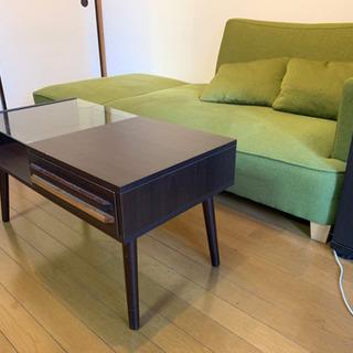 ファブリックソファ - 家具