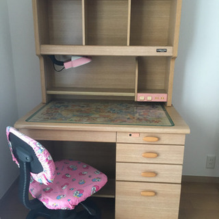 【値下げ】学習机と椅子