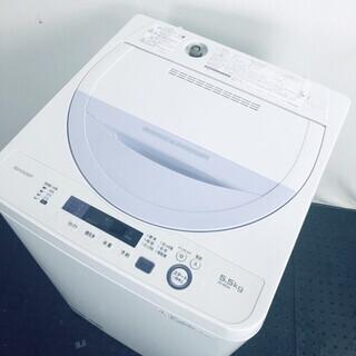 中古 洗濯機 シャープ SHARP 全自動洗濯機 2017年製 ...