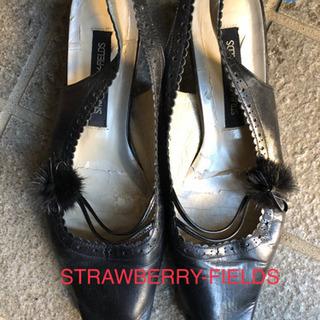 STRAWBERRY-FIELDS パンプス 24cm