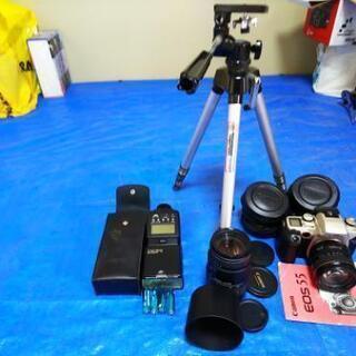 CanonEOS55フイルムカメラセット極上!