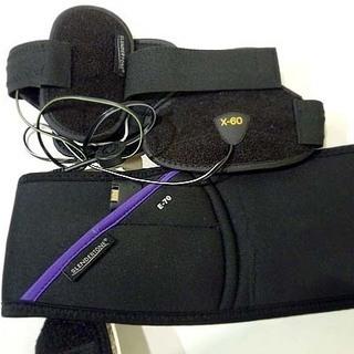 ジャンク スレンダートーン 充電器欠品 E-70 X-60 EMS 腹筋 トーレーニング アームベルト アブベルト 札幌市 白石区 東札幌 - 札幌市