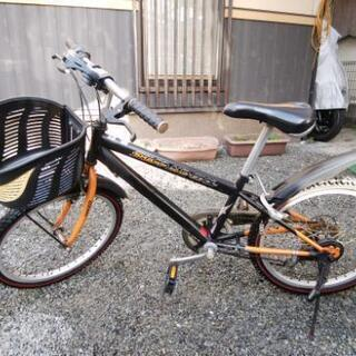 (商談中)20インチ 男児自転車 6段変速