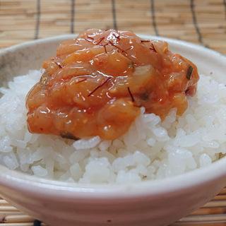 【衝撃☆SALE☆¥980】業務用 いか焼きネギ味噌造り1kg(冷凍) − 茨城県