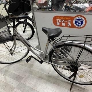 自転車 シルバー