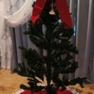 クリスマスツリー 高さ150cmの画像