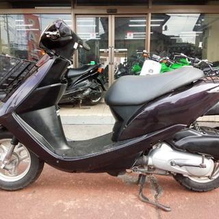 NO.2976 ディオ (DIO) 4サイクルエンジン カゴ付き パープル ☆彡 - バイク