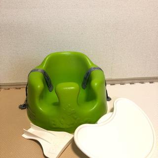 バンボ ライム色 専用テーブルセット付き 中古