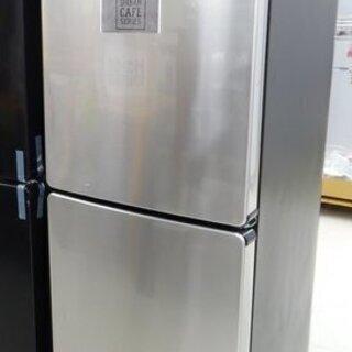 アウトレット148L 2ドア冷蔵庫JR-XP2NF148F-X