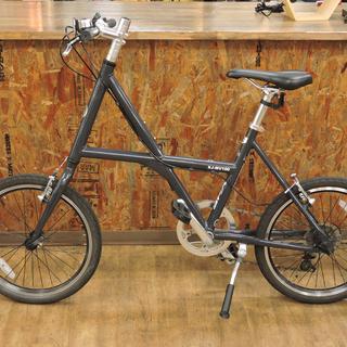 北大前! 札幌 引取 XDS MV100 エックスディーエス 20インチ ミニベロ XJ-MV100 グレー X型アルミフレーム 小径車 自転車 中古品の画像