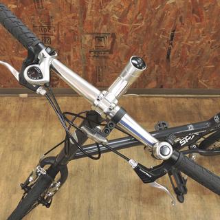 北大前! 札幌 引取 XDS MV100 エックスディーエス 20インチ ミニベロ XJ-MV100 グレー X型アルミフレーム 小径車 自転車 中古品 - 自転車