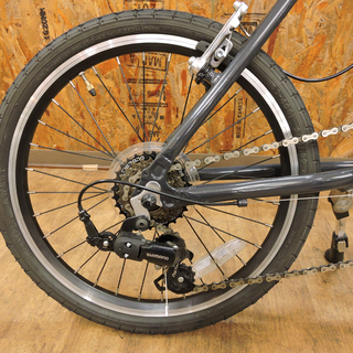 北大前! 札幌 引取 XDS MV100 エックスディーエス 20インチ ミニベロ XJ-MV100 グレー X型アルミフレーム 小径車 自転車 中古品 - 売ります・あげます