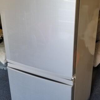 シャープノンフロン冷凍冷蔵庫 SJ-D14A-S 2015…