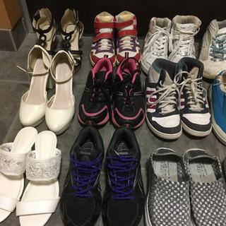 子供達が履かなくなった靴色々まとめていかがですか