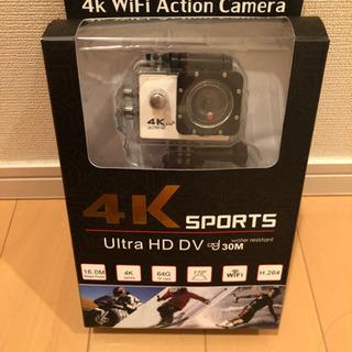 新品!アクションカメラ 4K WiFi
