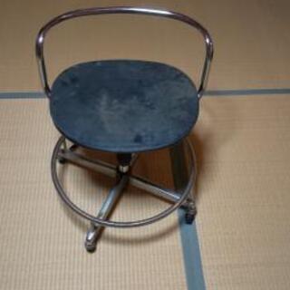 作業回転椅子