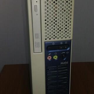 デスクトップパソコンNEC MK34LEZDG白①windows10 - 和歌山市