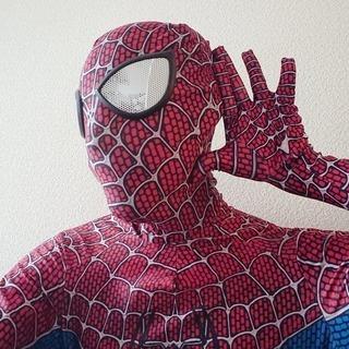 Spyderman スパイダーマン コスプレ 衣装 M ハーロウ...