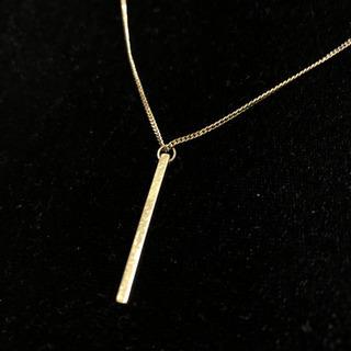 ネックレス ゴールド シンプル