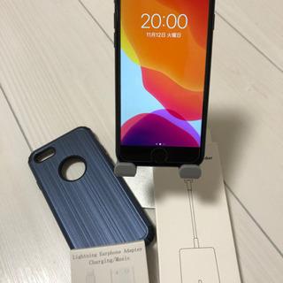 【美品】iPhone7 32GB au ブラック 付属品てんこ盛り