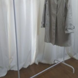 (中古美品1000円) IKEA ハンガーラック 白2台