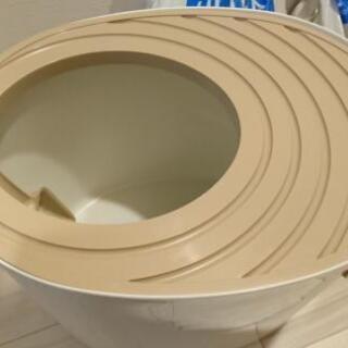 ☆未使用☆ 上からトイレ プチ アイリスオーヤマ 砂付き 猫