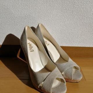 ESPERANZA 靴 ヒール 23.5cm
