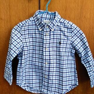 【ラルフローレン】チェックシャツ 90