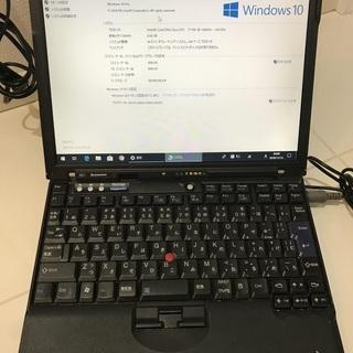 Thinkpad x61 T7100 1.8GHz メモリ4GB...